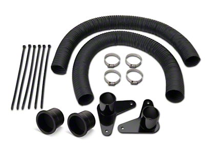 JLT Brake Cooling Kit - Black Bezels (13-14 GT, V6)