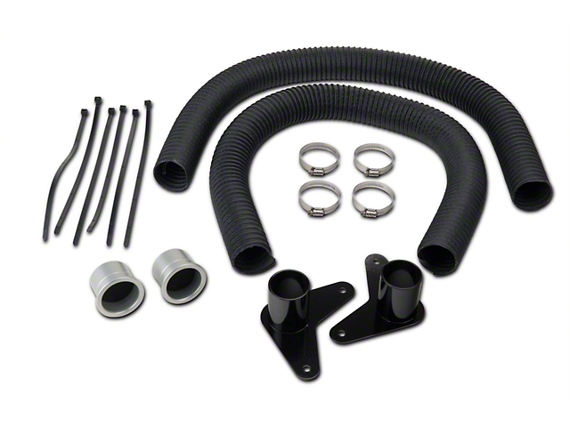 JLT Brake Cooling Kit - Silver Bezels (13-14 GT, V6)