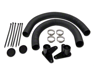 JLT Brake Cooling Kit - Black Bezels (07-09 GT500)
