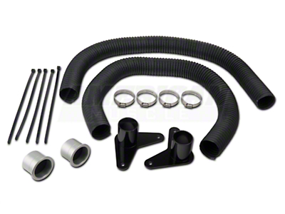 JLT Brake Cooling Kit - Silver Bezels (05-09 GT)
