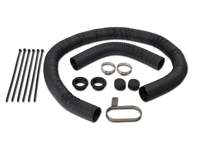 JLT Fresh Air Kit - Black Bezels (07-09 GT500)