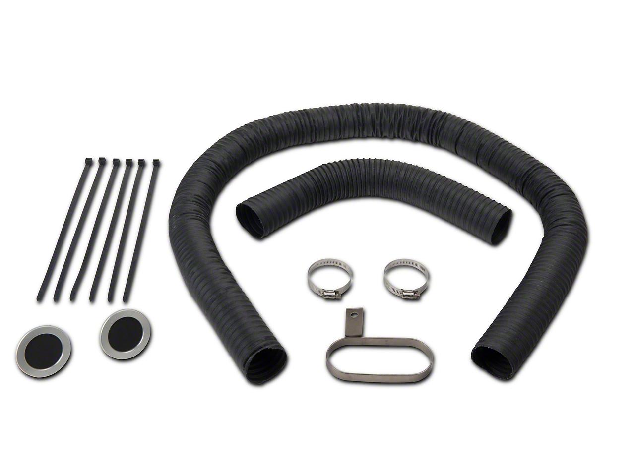 JLT Fresh Air Kit - Silver Bezels (07-09 GT500)