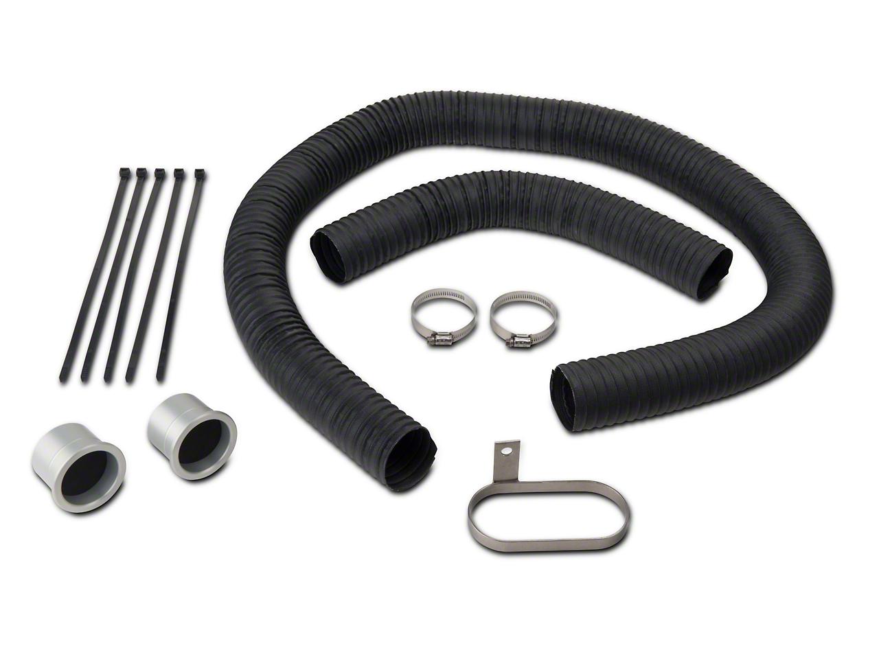 JLT Fresh Air Kit - Silver Bezels (05-09 GT)