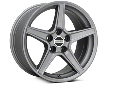Saleen Style Charcoal Wheel - 17x9 (94-04 All)