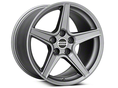 Saleen Style Charcoal Wheel - 17x10.5 (94-04 All)