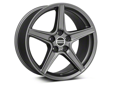 Saleen Style Charcoal Wheel - 18x9 (05-14 GT, V6)