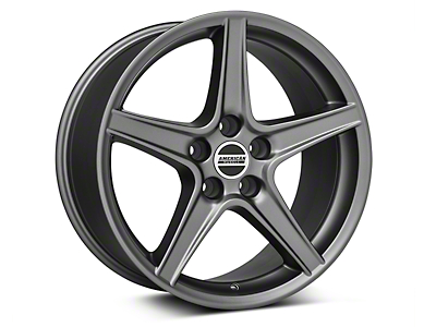 Saleen Style Charcoal Wheel - 18x9 (94-04 All)