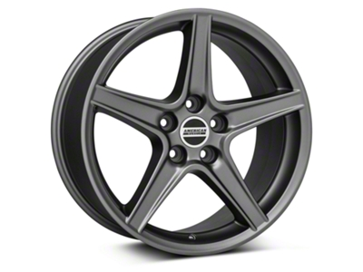 Saleen Style Charcoal Wheel - 18x10 (05-14 GT, V6)