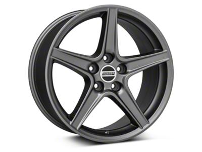 Saleen Style Charcoal Wheel - 18x10 (05-14 GT, V6)