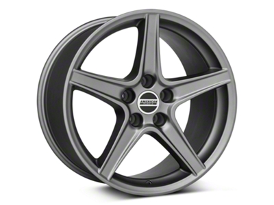 Saleen Style Charcoal Wheel - 18x10 (94-04 All)