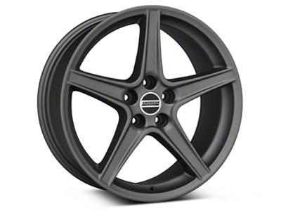 Saleen Style Charcoal Wheel - 19x8.5 (94-04 All)