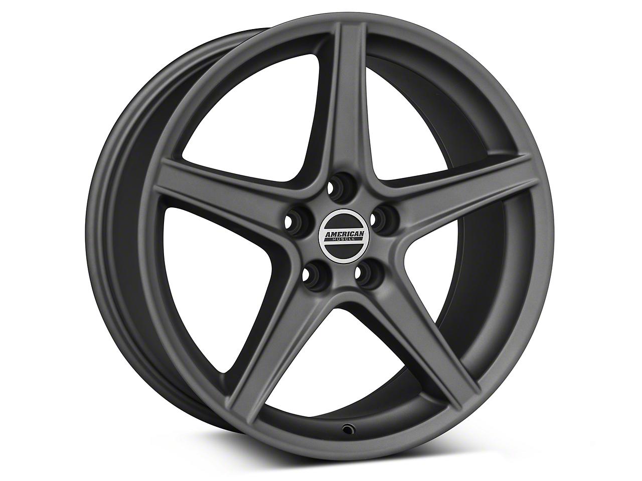 Saleen Style Charcoal Wheel - 19x8.5 (94-04 All)