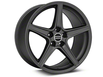 Saleen Style Charcoal Wheel - 19x10 (05-14 GT, V6)