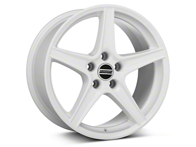 Saleen Style White Wheel - 18x9 (05-14 All)