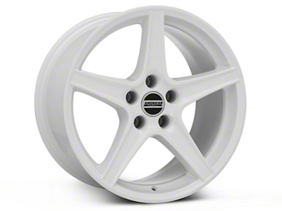 Saleen Style White Wheel - 18x10 (94-04 All)