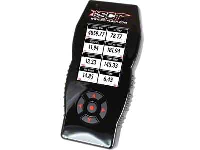 SCT SF4 Power Flash Tuner (96-14 All; 15 GT & EcoBoost)