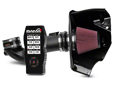 Airaid Race CAI and BAMA X4 Tuner (05-09 GT)