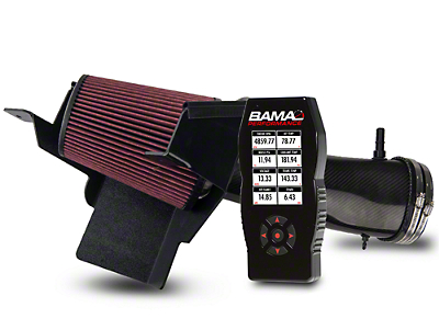 BAMA JLT Big Air Carbon Fiber Cold Air Intake & BAMA X4 Tuner (07-09 GT500)