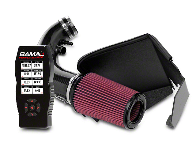 JLT Carbon Fiber CAI and BAMA X4 Tuner (11-14 GT)