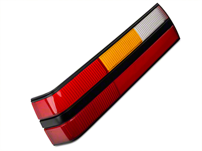 Replacement Tail Light Lens - Left Side (83-84 All)