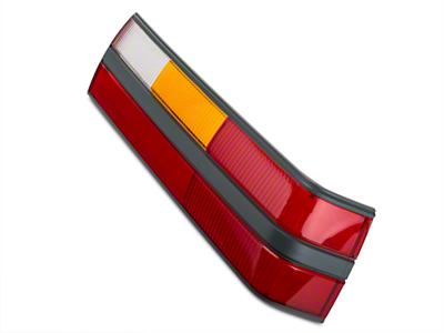 Replacement Tail Light Lens - Right Side (85-86 All)