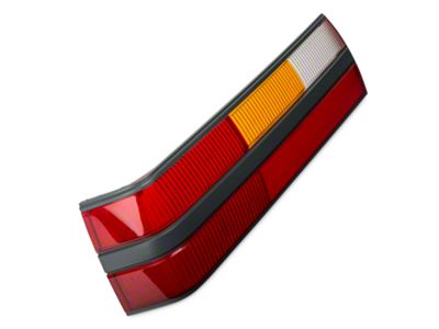 Opr replacement mustang tail light lens left side 101715 for Garage seat lens