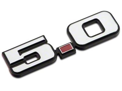 Foxbody Style 5.0 Fender Emblem