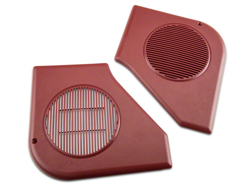 Door Speaker Grille Kit - Scarlet Red (87-93 All)