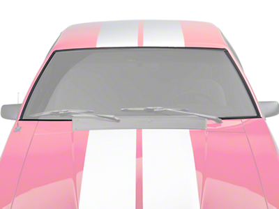 Windshield Upper and Side Trim Molding Set - Hardtop (79-93 All)