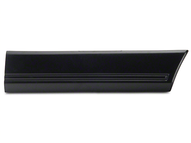Right Side Quarter Molding - Rear (85-86 All)