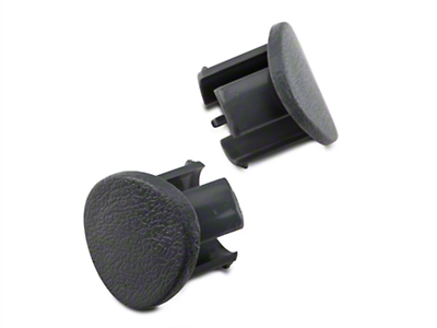 Gray Door Armrest Plugs - Right Side (87-93 All)