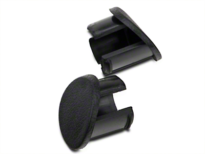 Black Door Armrest Plugs - RH (87-93 All)