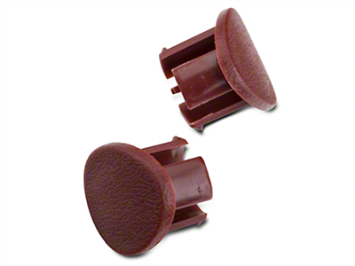 Red Door Armrest Plugs - RH (87-93 All)