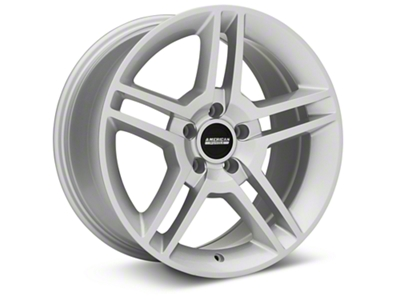 2010 GT500 Style Silver Wheel - 18x9 (05-14 All)