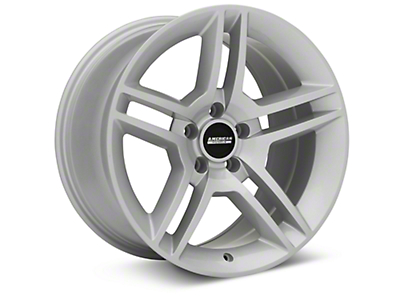 2010 GT500 Style Silver Wheel - 18x10 (94-04 All)