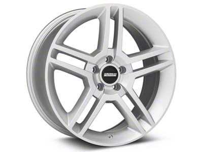 2010 GT500 Style Silver Wheel - 19x8.5 (94-04 All)