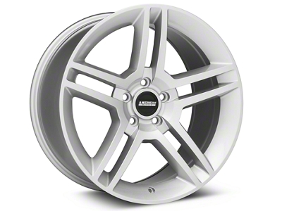 2010 GT500 Style Silver Wheel - 19x10 (05-14 All)