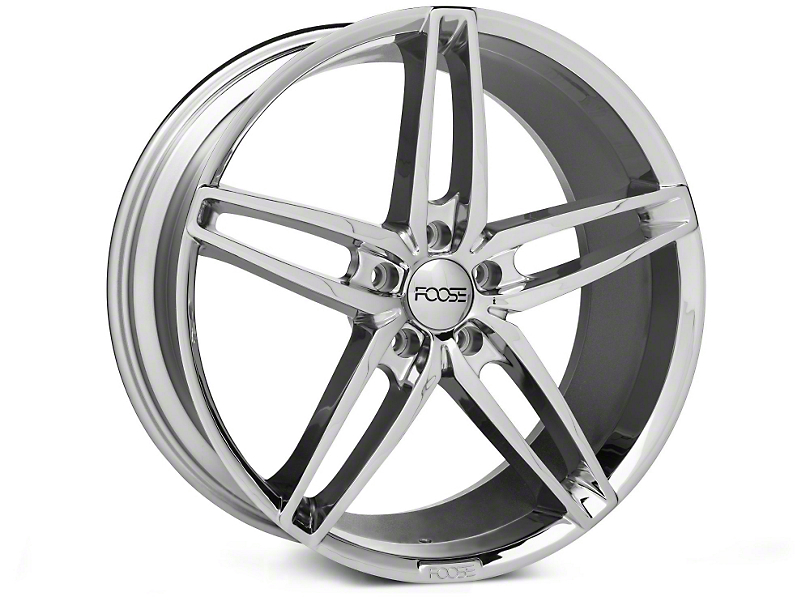 Foose Stallion Chrome Wheel - 20x8.5 (05-14 All)