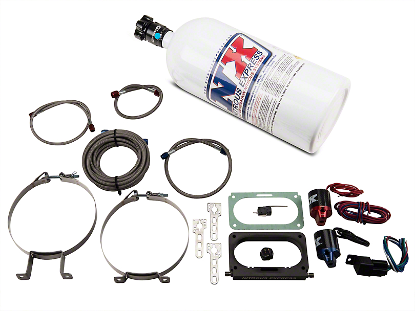 Nitrous Express Nitrous Kit - Plate System (96-04 Cobra, Mach 1)