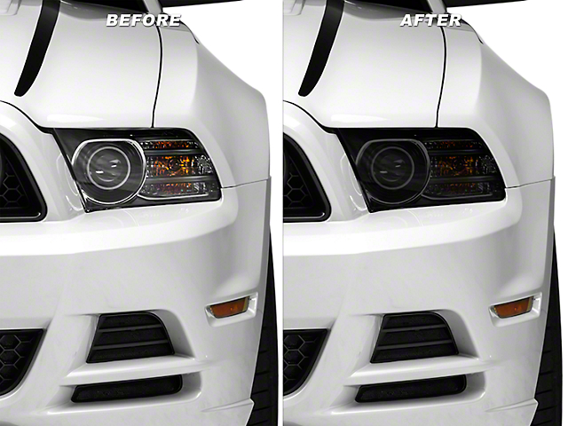 Smoked Headlight Tint Kit (10-14 All)