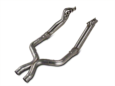 Stainless Works Long Tube Headers and Off-Road X-Pipe Kit (11-14 GT500)