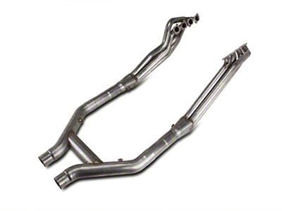 Stainless Works Long Tube Headers and Off-Road H-Pipe Kit (11-14 GT500)