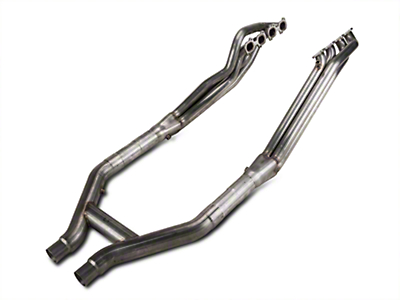 Stainless Works Long Tube Headers and Off-Road H-Pipe Kit (07-10 GT500)