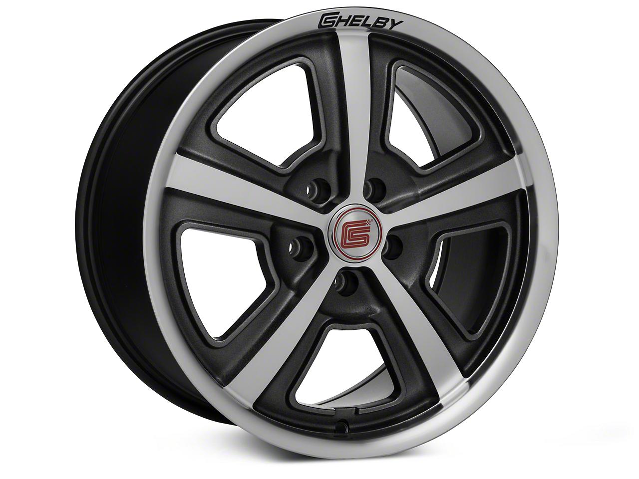 Shelby CS69 Hyper Black Wheel - 18x9.5 (05-14 All)