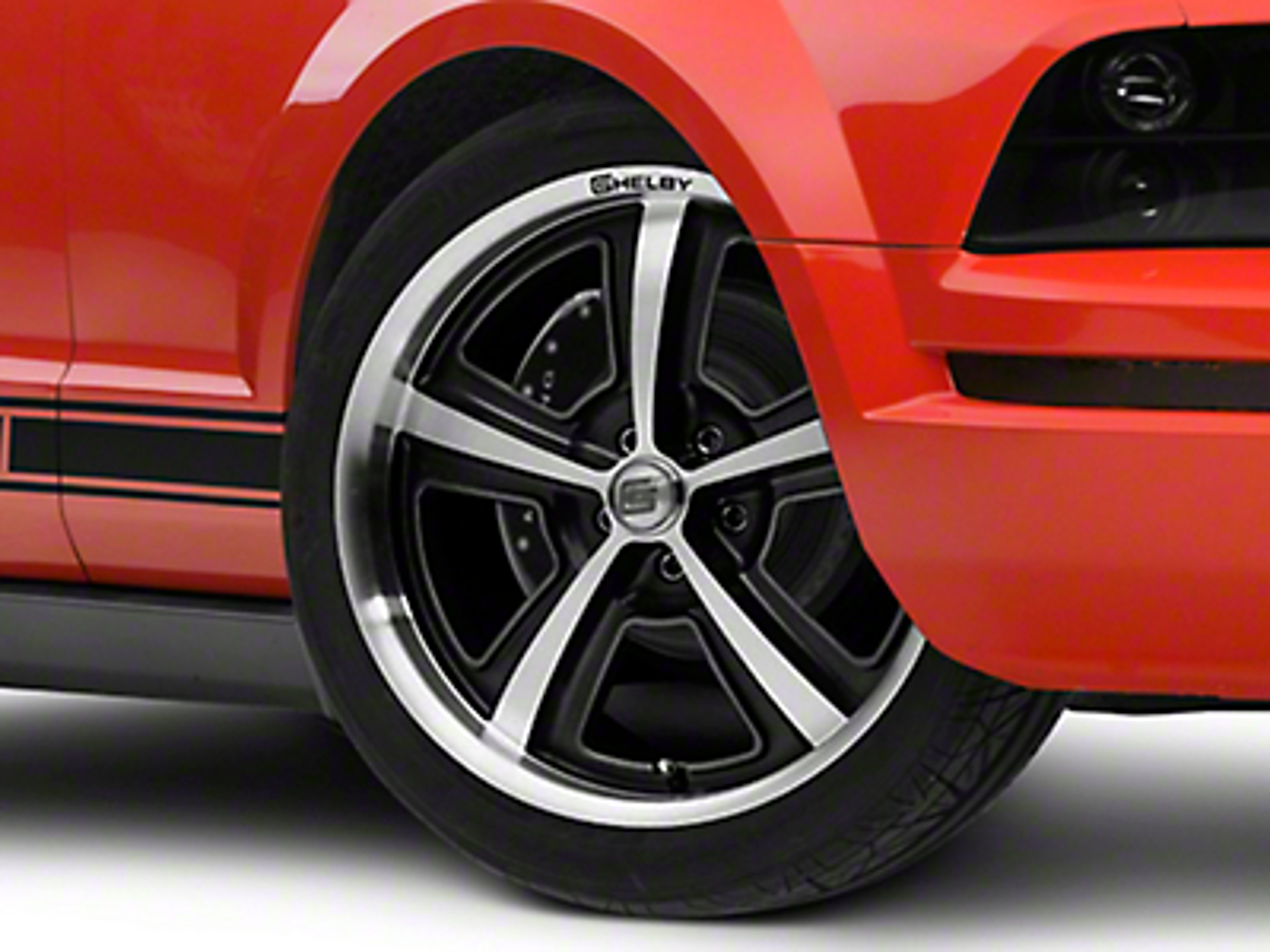 Shelby CS69 Hyper Black Wheel - 20x9 (05-14 All)