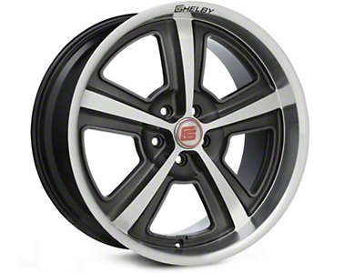 Shelby CS69 Hyper Black Wheel - 20x10 (15-16 All)