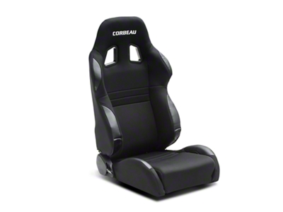 Corbeau A4 Seat - Wide - Black (79-16 All)