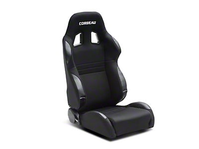 Corbeau A4 Seat - Wide - Black (79-14 All)