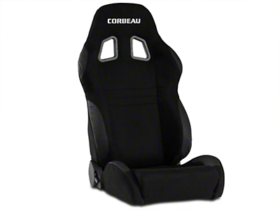 Corbeau A4 Seat - Black Microsuede (79-17 All)