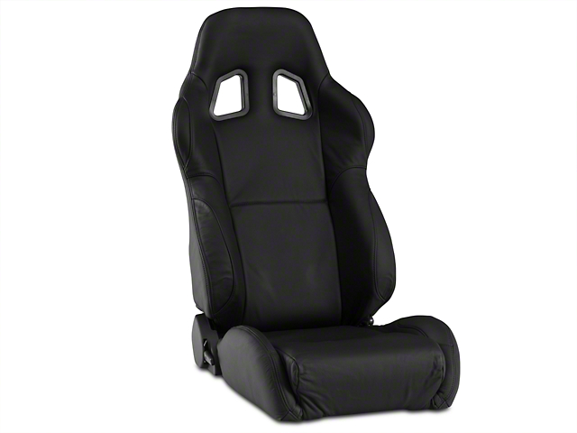 Corbeau A4 Seat - Black Leather (79-17 All)